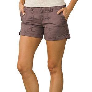 Prana Mari Shorts Volcanic Plum Size 10 NWT